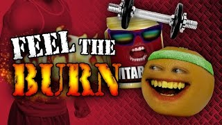 getlinkyoutube.com-Annoying Orange - Feel the Burn (ft. Chester See)