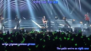 getlinkyoutube.com-B.A.P - Hurricane LIVE II [eng sub / roman / hangul]