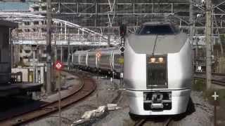getlinkyoutube.com-【東海道線】651系1000番台、東海道線内で試運転