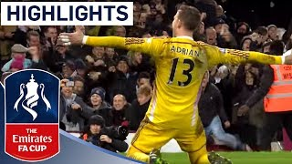 getlinkyoutube.com-West Ham 2-2 (9-8 Pen) Everton (2014/15 FA Cup R3) | Goals & Highlights
