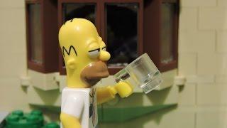 "getlinkyoutube.com-the Lego Simpsons ""Homer´s day"" animation"