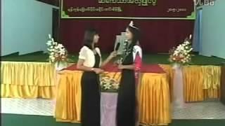 getlinkyoutube.com-Myanmar long hair competition
