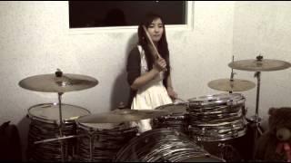 getlinkyoutube.com-ไม่บอกเธอ Ost.Hormones - by Bow Dent MU(drum cover)