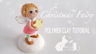 getlinkyoutube.com-Christmas Fairy Polymer Clay Tutorial - Simple Fairy