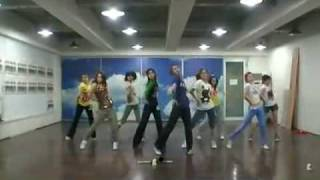 getlinkyoutube.com-SNSD - Genie Demo ver. (I Just Wanna Wish) Practice Room Jun08.2009 GIRLS' GENERATION