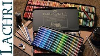Prismacolor Vs Faber Castell Polychromos colored pencils w/ Lachri