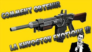 Comment Obtenir La Khvostov Exotique ! + 6 Fragments Dormants SIVA !