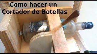 getlinkyoutube.com-Como hacer una Herramienta para Cortar Botellas | Bunker Maker