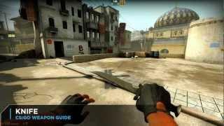 getlinkyoutube.com-CS:GO Knife Weapon Guide: 1 Slash Instant Frag Secret Revealed, New Slash & Stab Animations