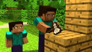 getlinkyoutube.com-El legado de Herobrine un gran video animacion de minecraft.