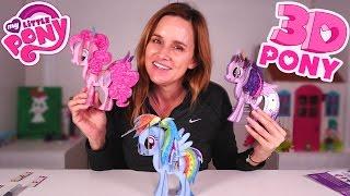 getlinkyoutube.com-My Little Pony   Building MLP 3D Pony w/ Amy Jo   Pinkie Pie, Rainbow Dash, Twilight Sparkle Ponies