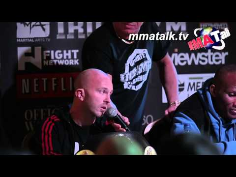 UCMMA 33 - Full Conference / Weigh-In: David Lee, Ben Callum, Ben Smith, Spencer Hewitt