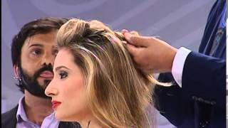 getlinkyoutube.com-Glamour & Penteados de Martin Parsons no HAIR BRASIL FASHION SHOW 2014