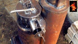 getlinkyoutube.com-Ракетная печь/Rocket stove/ Rakete Herd/ロケットストーブ (часть 5)