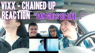 """getlinkyoutube.com-Vixx - Chained Up MV Reaction (Non-Kpop fan) """"Fan Girls Be Like..."""""""