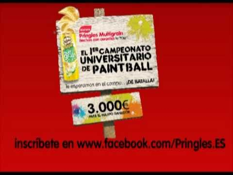Pringles Paintball