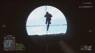 getlinkyoutube.com-.125 Quickscopes Fast Enough? Battlefield 4 Quickscope/Longshot Montage