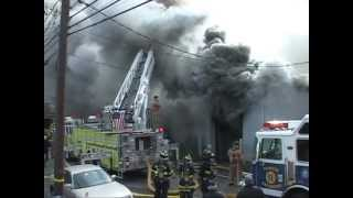 getlinkyoutube.com-North Arlington,nj Fire Department Multiple Alarm Fire