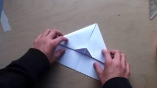 getlinkyoutube.com-Papierflieger selbst basteln - Flugzeuge aus Papier falten