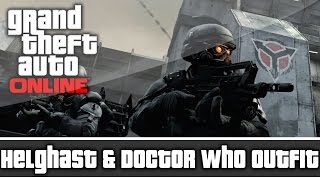 getlinkyoutube.com-GTA 5 Online - Killzone Helghast & Doctor Who Outfit and Customization