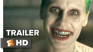 getlinkyoutube.com-Suicide Squad Comic-Con Trailer (2016) - Jared Leto, Will Smith - DC Comics Movie
