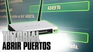 getlinkyoutube.com-Abrir los puertos de tu modem I Cambia de Nat Moderada, Estricta a Abierta I