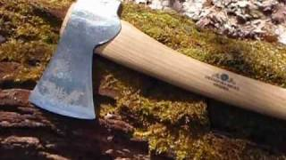getlinkyoutube.com-Gransfors Bruks-Scandinavian forest axe, short review