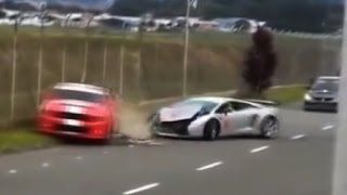 getlinkyoutube.com-How to wreck Lamborghinis? Watch this compilation (only Videos, no pictures) HD