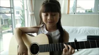 getlinkyoutube.com-Taylor Swift -  Blank Space - Guitar Acoustic Cover by Gail Sophicha 9 Years old.