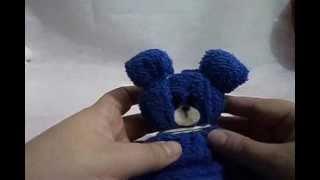 getlinkyoutube.com-Como fazer um ursinho de toalha