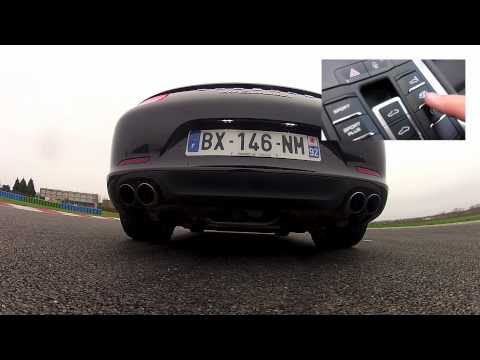 Porsche 911 (991) Carrera S sport exhaust sound (Motorsport)