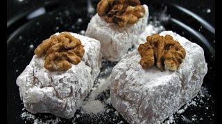 getlinkyoutube.com-Ratluk - Rahat lokum - Fini recepti