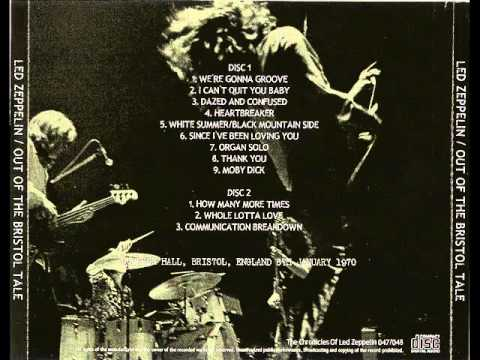 I Can't Quit You - Led Zeppelin (live Bristol 1970-01-08)