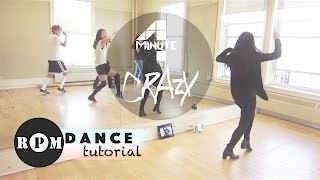 "getlinkyoutube.com-4Minute ""Crazy"" Dance Tutorial (Chorus)"