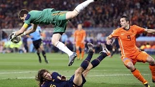 iker casillas best saves(best goalkeeper)
