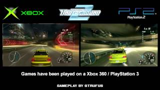 getlinkyoutube.com-NFS Underground 2 - Xbox vs. PS2