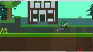 getlinkyoutube.com-Cube World 2D .Первая неделя создания игры.