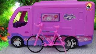 getlinkyoutube.com-Авто - домик для куклы барби / Auto - house for Barbie dolls