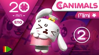 getlinkyoutube.com-Canimals | Collection 08 (Mimi 2) | Full episodes for kids | 20 minutes