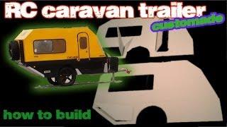 getlinkyoutube.com-rc caravan trailer off road, tamiya cc01