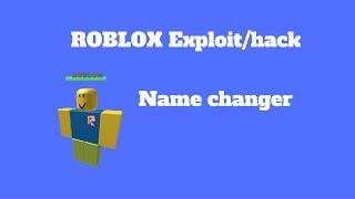 getlinkyoutube.com-ROBLOX Exploit/Hack : NAME CHANGER