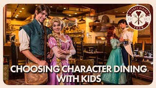 Walt Disney World Character Dining with Kids | Disney Dining Show | 08/24/18