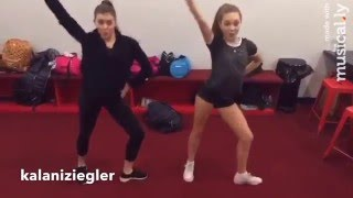 getlinkyoutube.com-Maddie Ziegler and Kalani Hilliker Little Einstein Dance