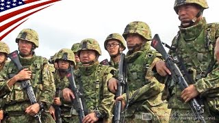 getlinkyoutube.com-陸上自衛隊&米海兵隊の日米共同「基地警護」訓練・沖縄 - US Marines & Japanese Forces Bilateral Base Defense Exercise in Okinawa