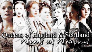 Queens of England & Scotland    York, Tudor & Stuart    Words as Weapons
