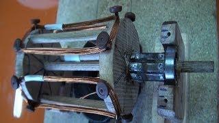 getlinkyoutube.com-Motor eléctrico casero | Experimentos Caseros