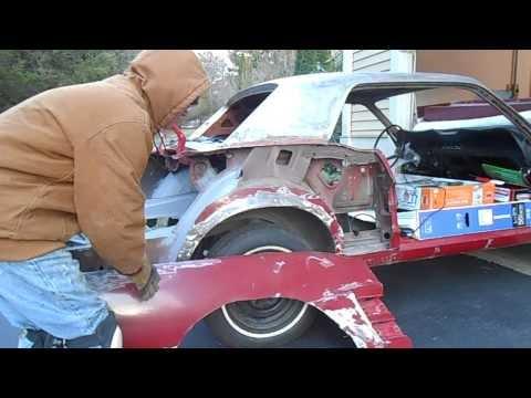 Rear Quarter Panel Removal Part 1