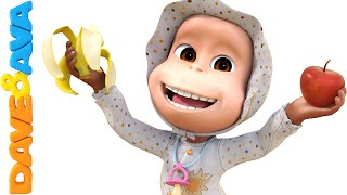Apples and Bananas Song | Nursery Rhymes and Baby Songs from Dave and Ava