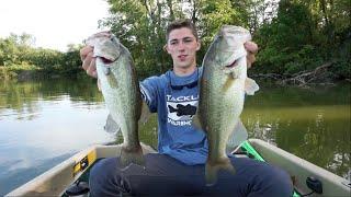 getlinkyoutube.com-Solid Limit of Bass -- Fishing With Jigs