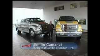 VRUM-Emilio Camanzi dirige a Ford F-Maxx